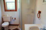 bathroom with standup shower