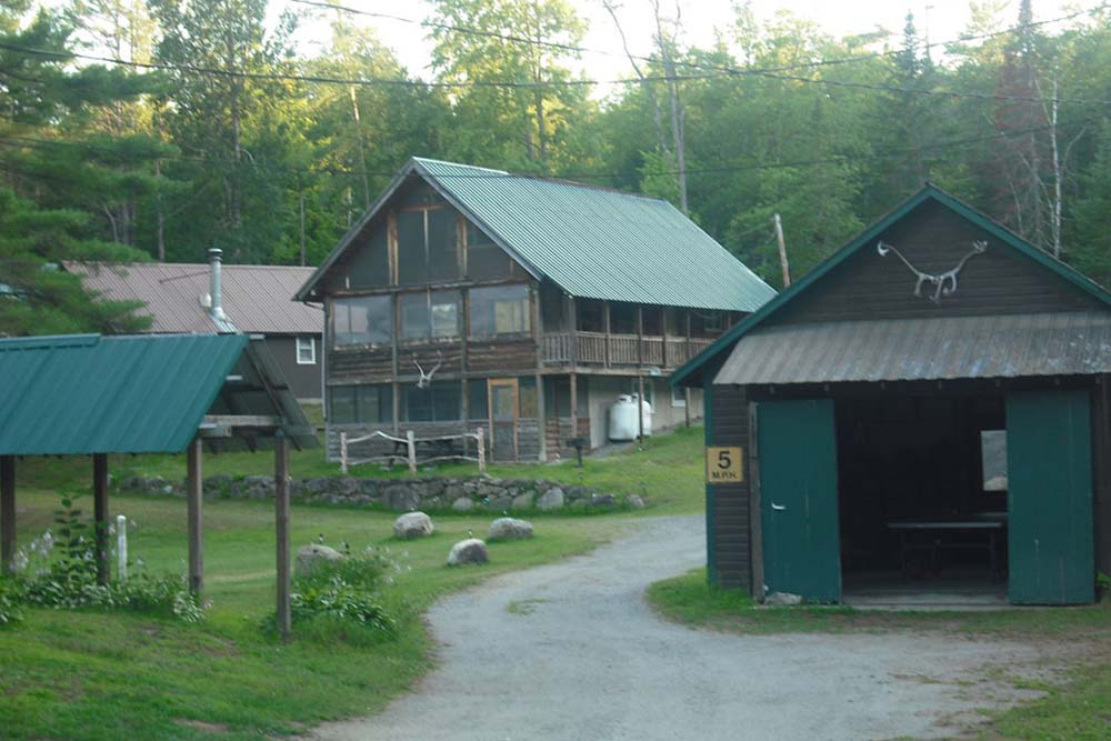 Cabins and buildings