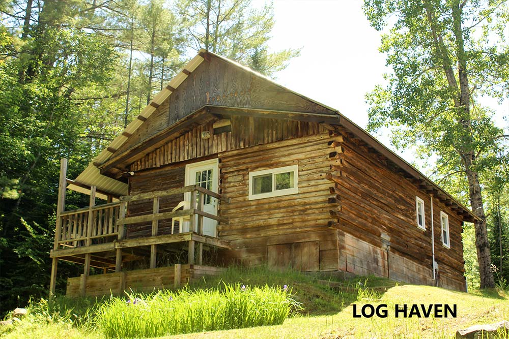 Log Cabin with front porch