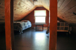 Loft area with 2 twin beds