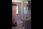 Bathroom with shower, tub and sink