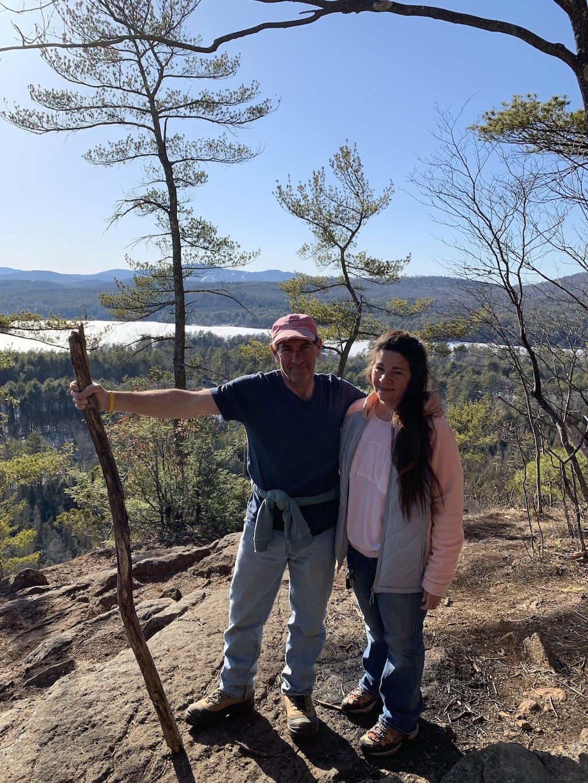 Hiking Stewart Mountain